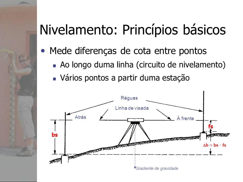 Nivelamento: Princípios básicos
