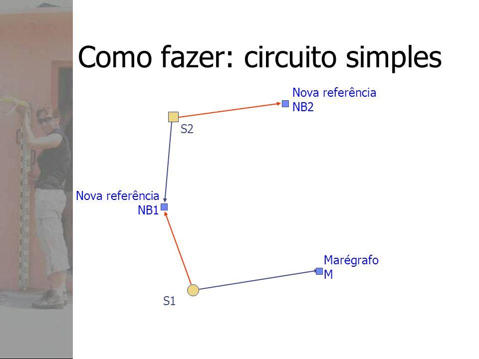 Como fazer: circuito simples