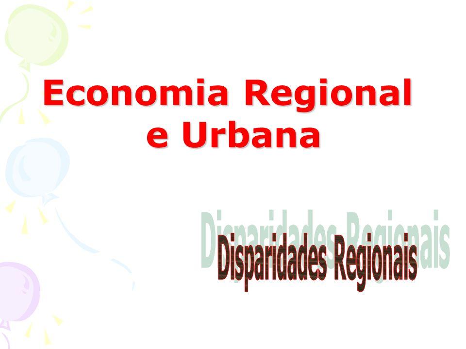 Disparidades Regionais