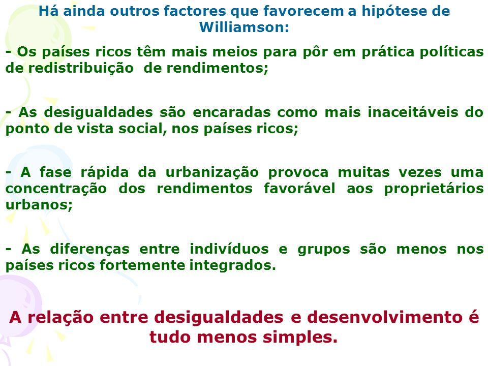 A relação entre desigualdades e desenvolvimento é tudo menos simples.