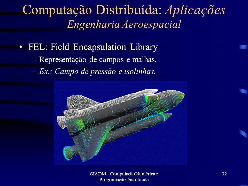 Computação Distribuída: Aplicações Engenharia Aeroespacial
