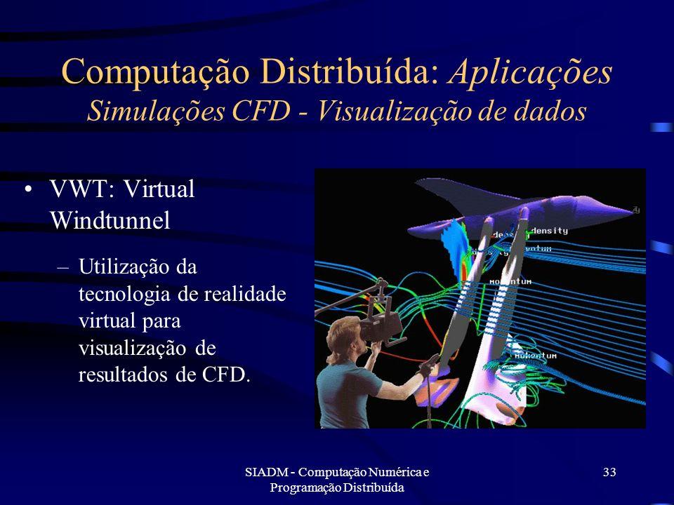 SIADM - Computação Numérica e Programação Distribuída