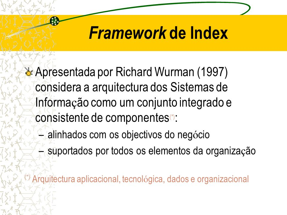 Framework de Index