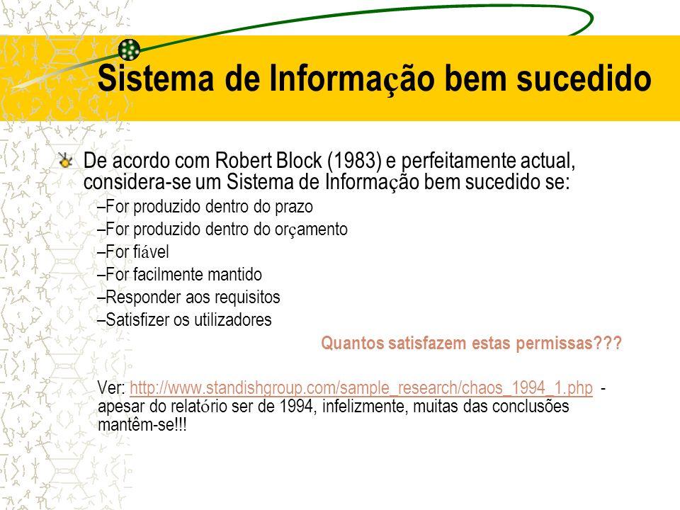 Sistema de Informação bem sucedido