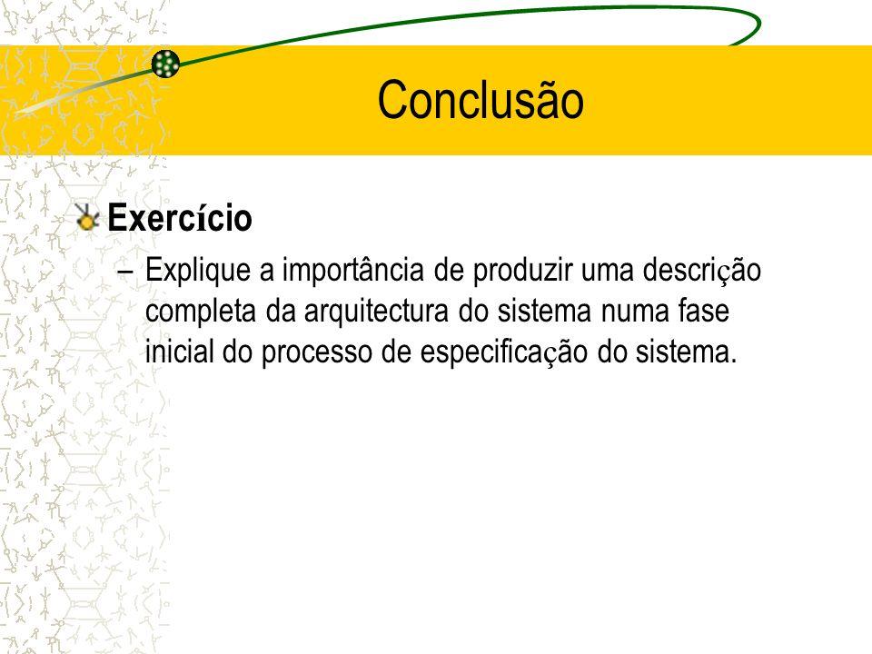Conclusão Exercício.