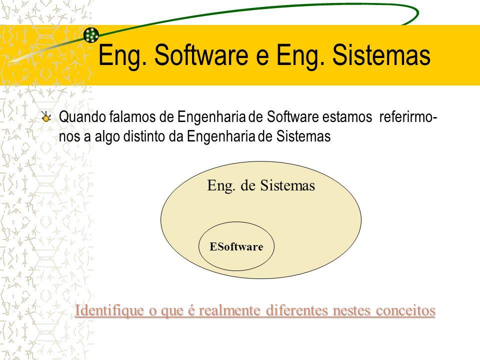 Eng. Software e Eng. Sistemas