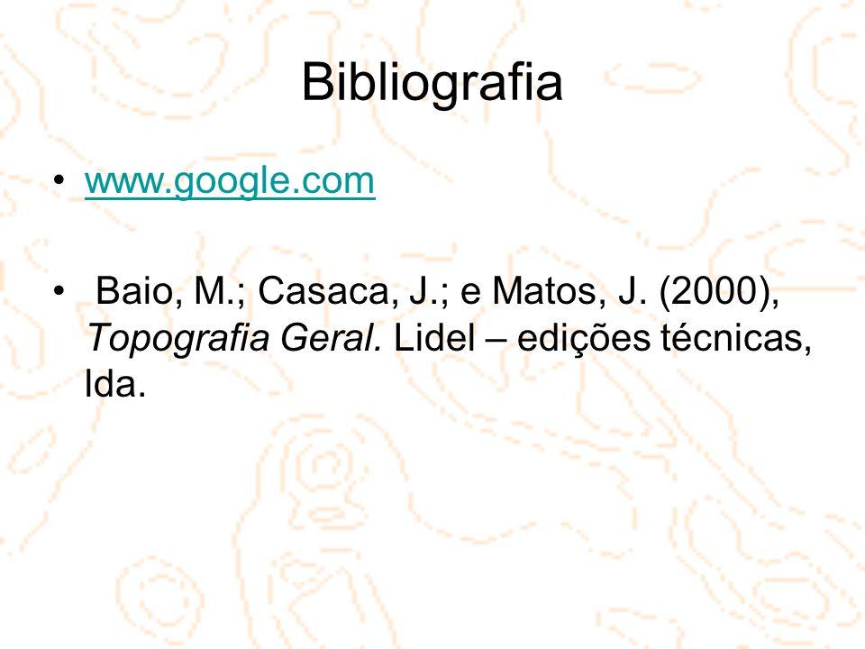 Bibliografia www.google.com