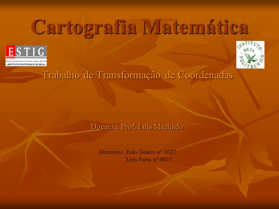 Cartografia Matemática