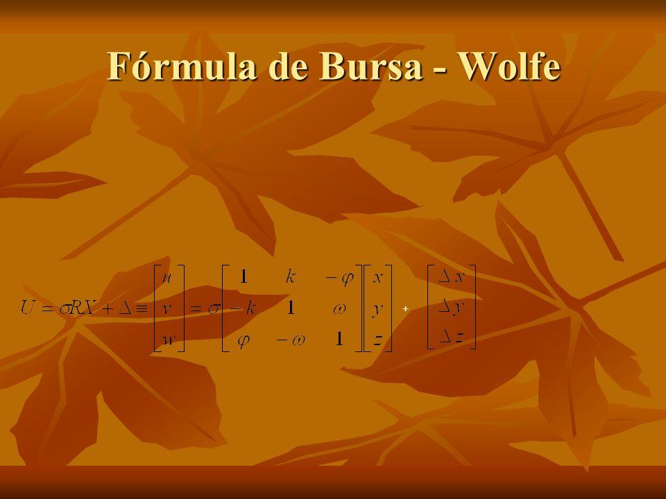 Fórmula de Bursa - Wolfe