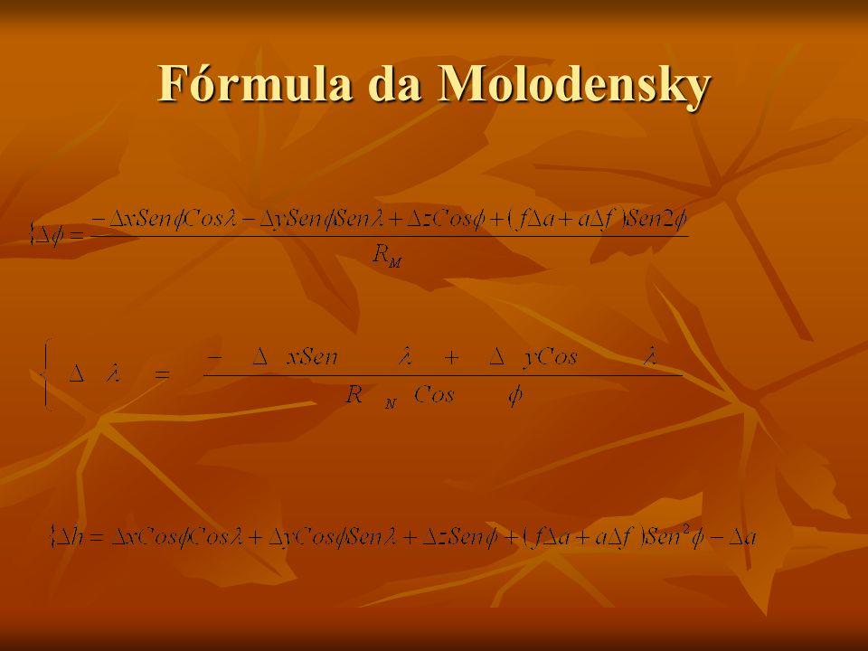Fórmula da Molodensky