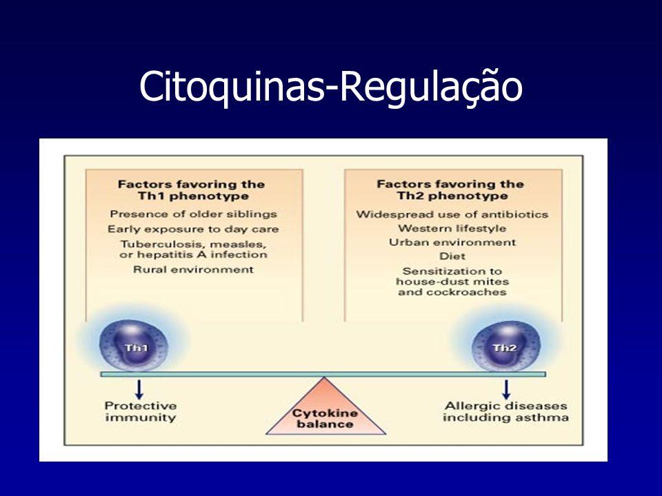 Citoquinas-Regulação