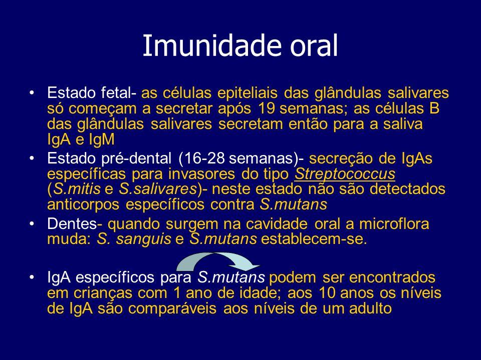 Imunidade oral