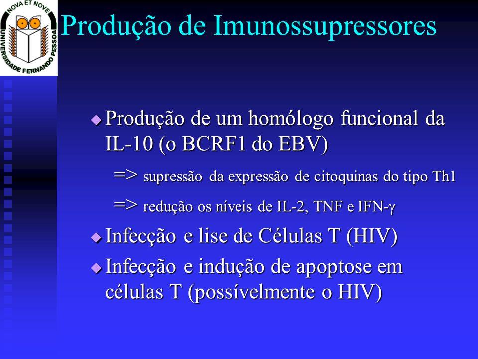 Produção de Imunossupressores