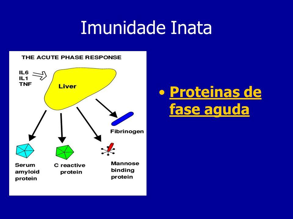 Imunidade Inata Proteinas de fase aguda