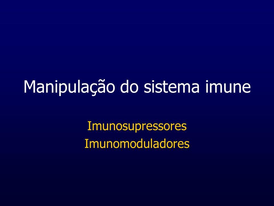 Manipulação do sistema imune