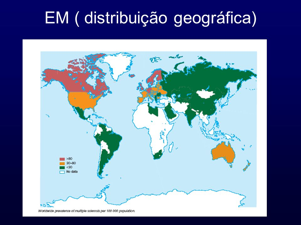 EM ( distribuição geográfica)