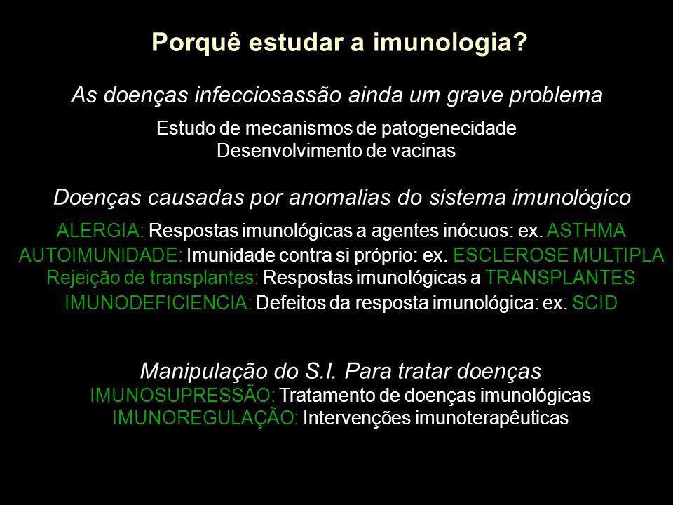 Porquê estudar a imunologia