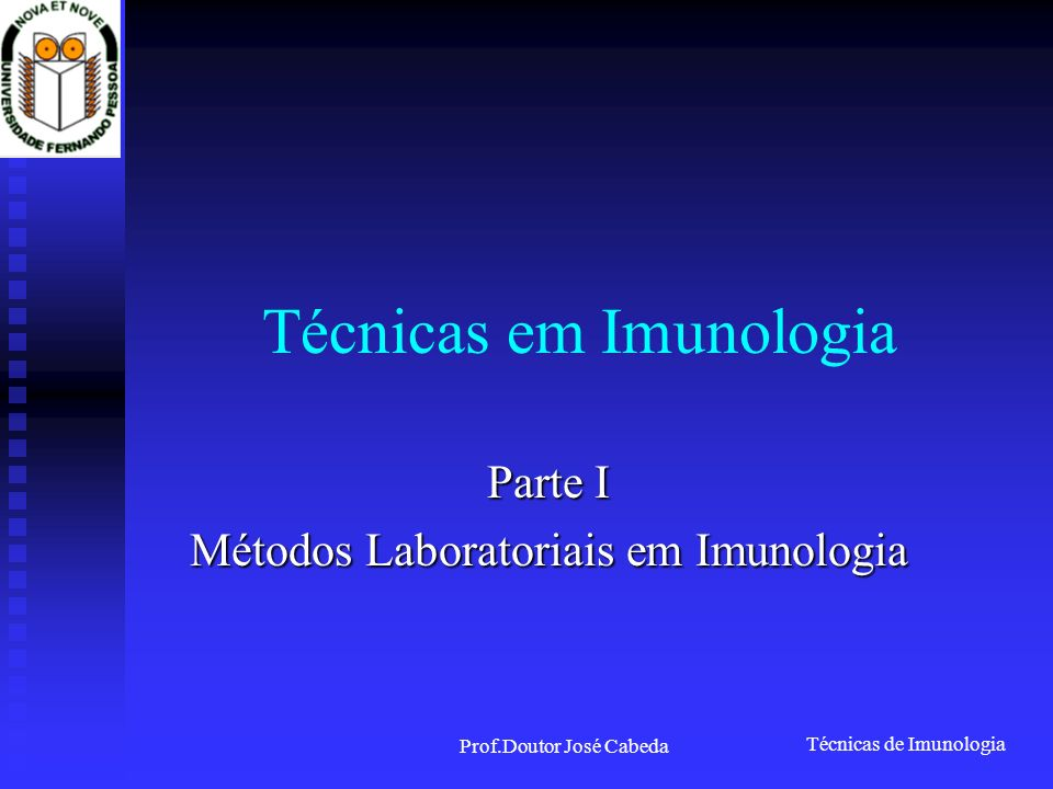Técnicas em Imunologia
