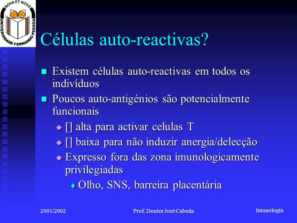 Células auto-reactivas