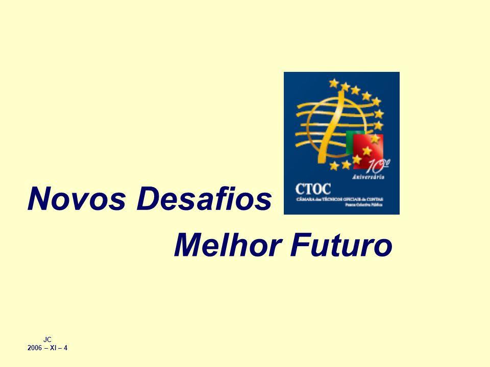 Novos Desafios Melhor Futuro JC 2006 – XI – 4