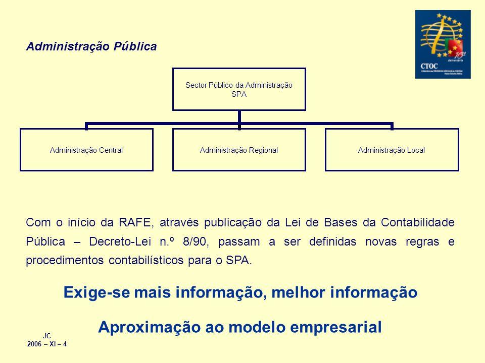 Exige-se mais informação, melhor informação