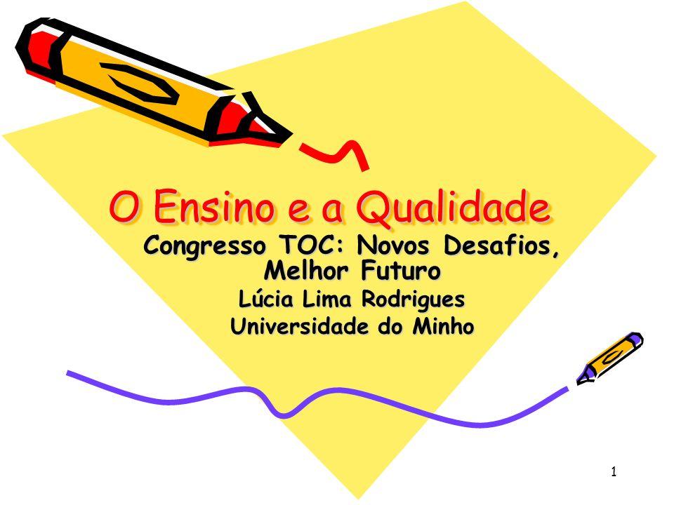 Congresso TOC: Novos Desafios, Melhor Futuro