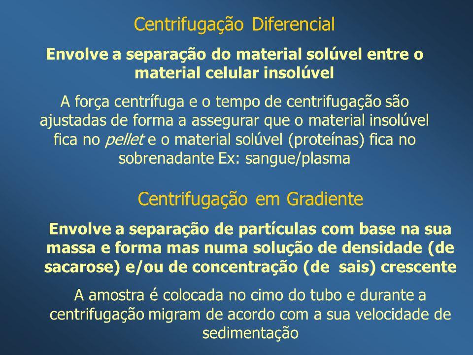 Centrifugação Diferencial