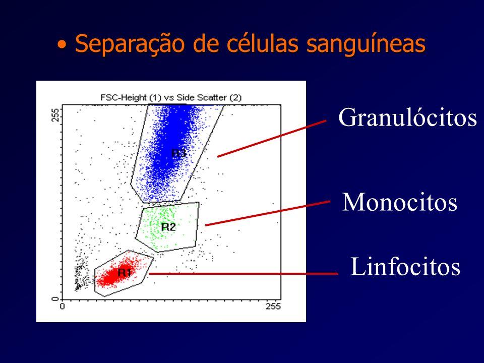 Separação de células sanguíneas