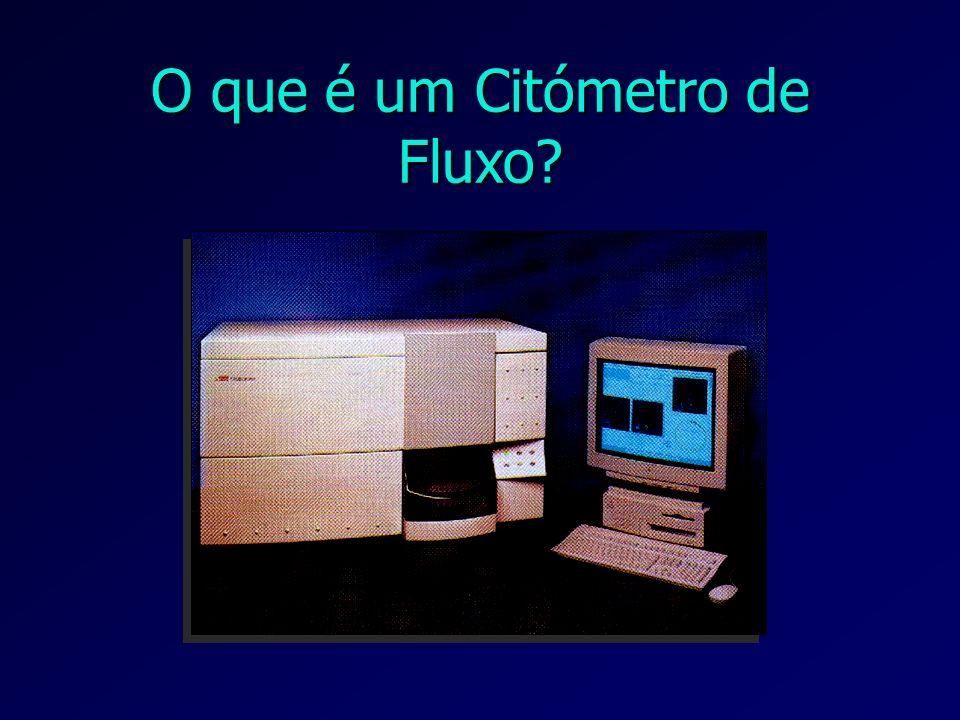 O que é um Citómetro de Fluxo