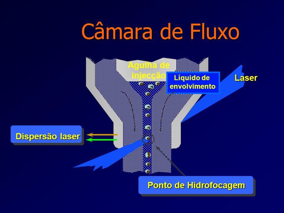 Câmara de Fluxo Agulha de injecção Laser Dispersão laser