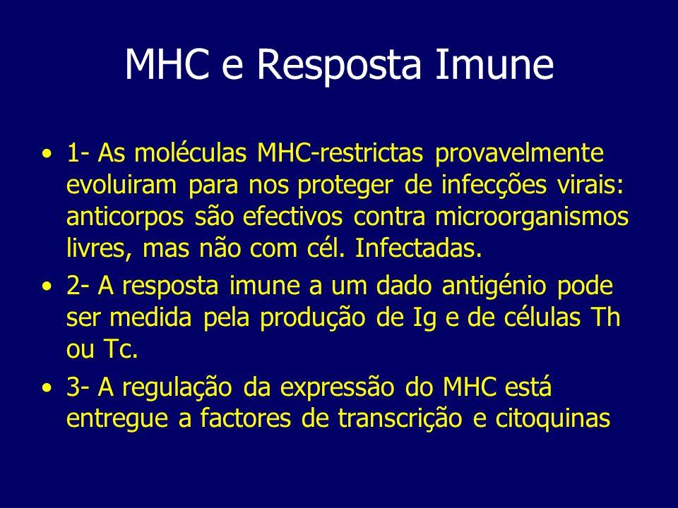 MHC e Resposta Imune