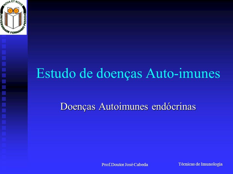 Estudo de doenças Auto-imunes