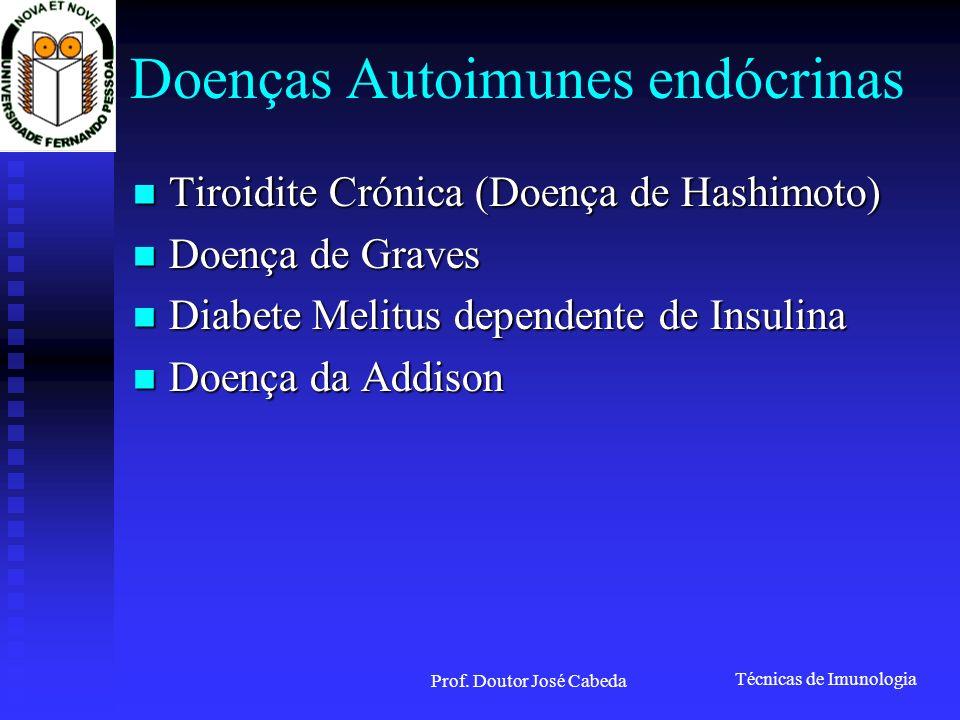 Doenças Autoimunes endócrinas