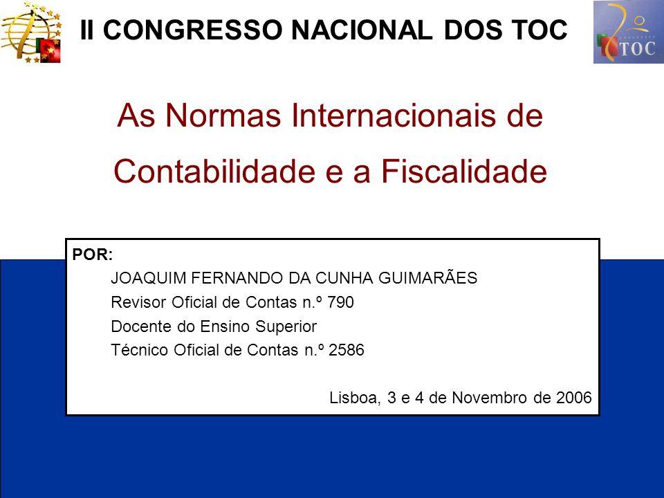 II CONGRESSO NACIONAL DOS TOC