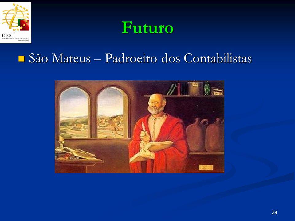 Futuro São Mateus – Padroeiro dos Contabilistas