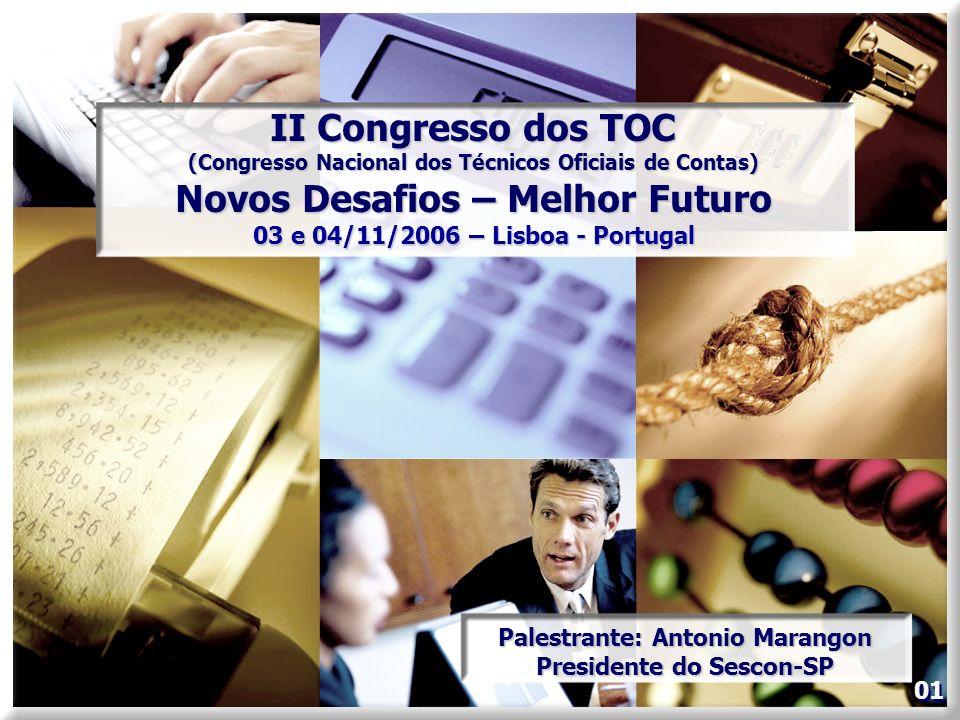 II Congresso dos TOC Novos Desafios – Melhor Futuro