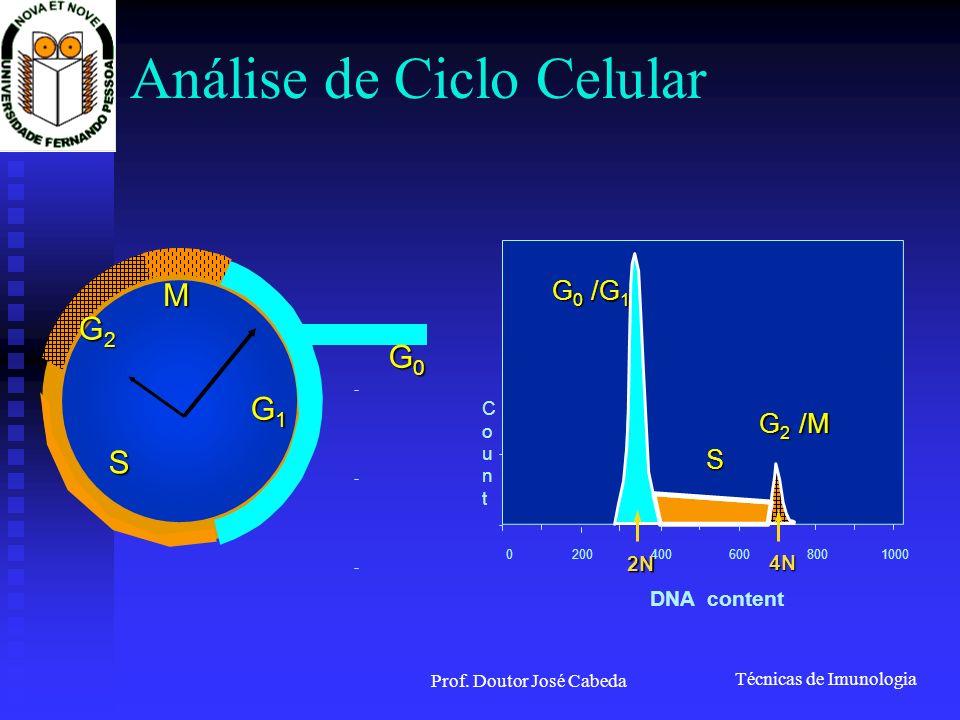 Análise de Ciclo Celular