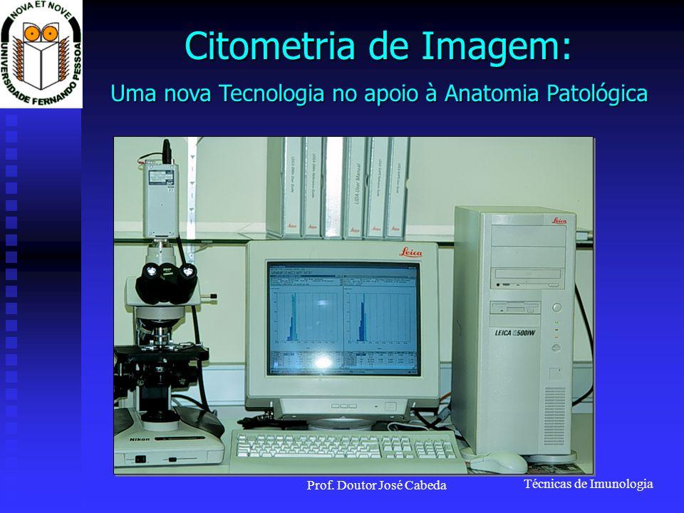 Citometria de Imagem: Uma nova Tecnologia no apoio à Anatomia Patológica Prof. Doutor José Cabeda