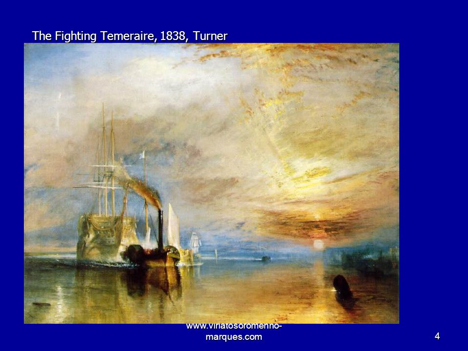 The Fighting Temeraire, 1838, Turner