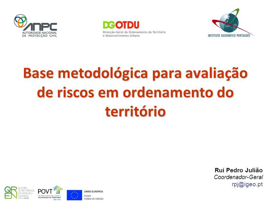 Base metodológica para avaliação de riscos em ordenamento do território