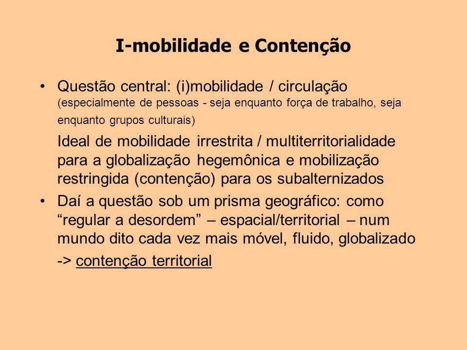 I-mobilidade e Contenção