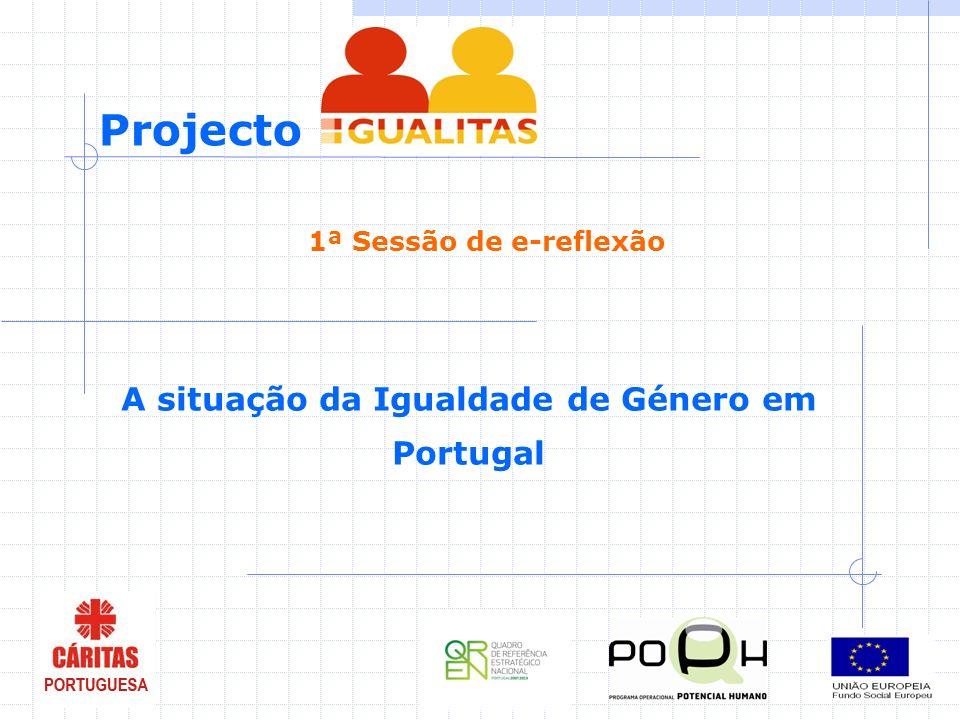 A situação da Igualdade de Género em Portugal