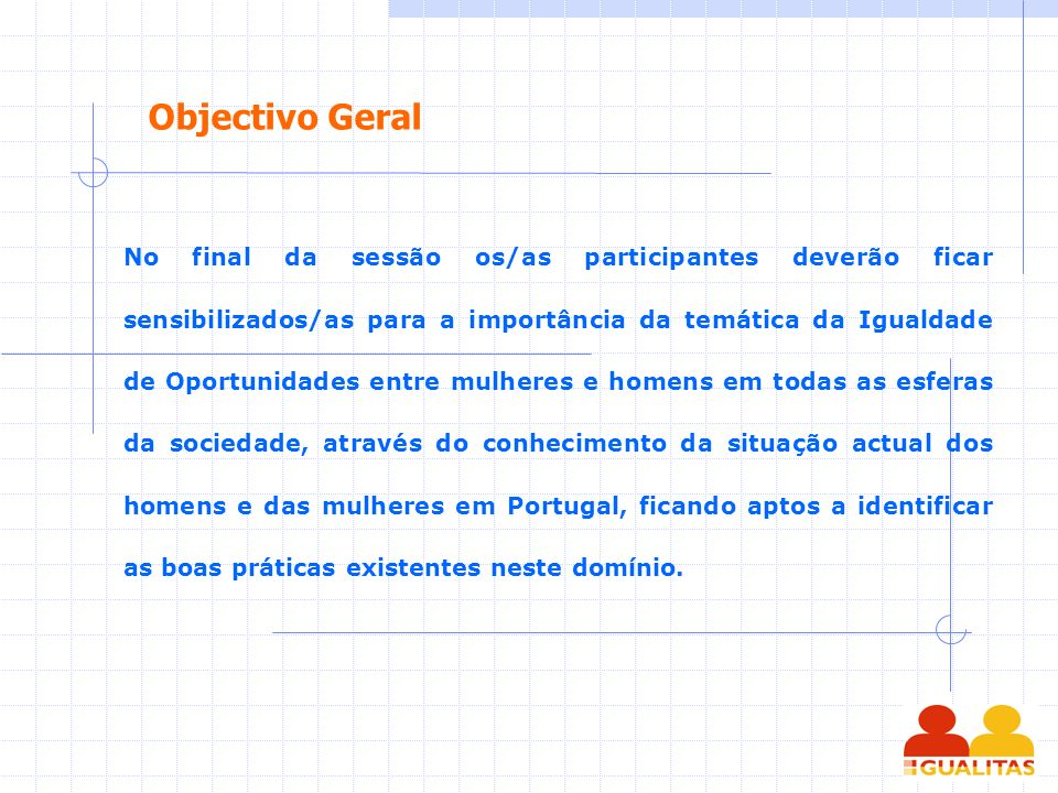 Objectivo Geral