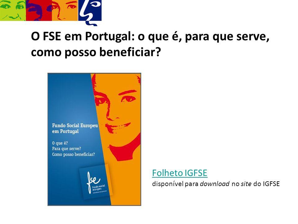 O FSE em Portugal: o que é, para que serve, como posso beneficiar