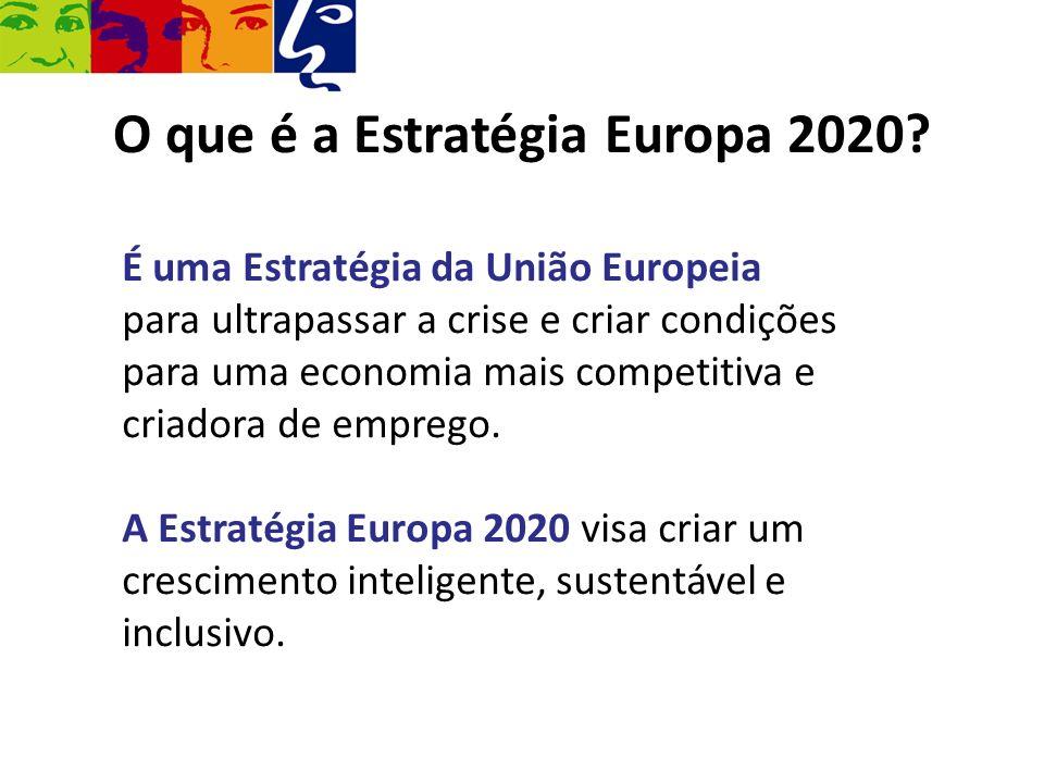 O que é a Estratégia Europa 2020