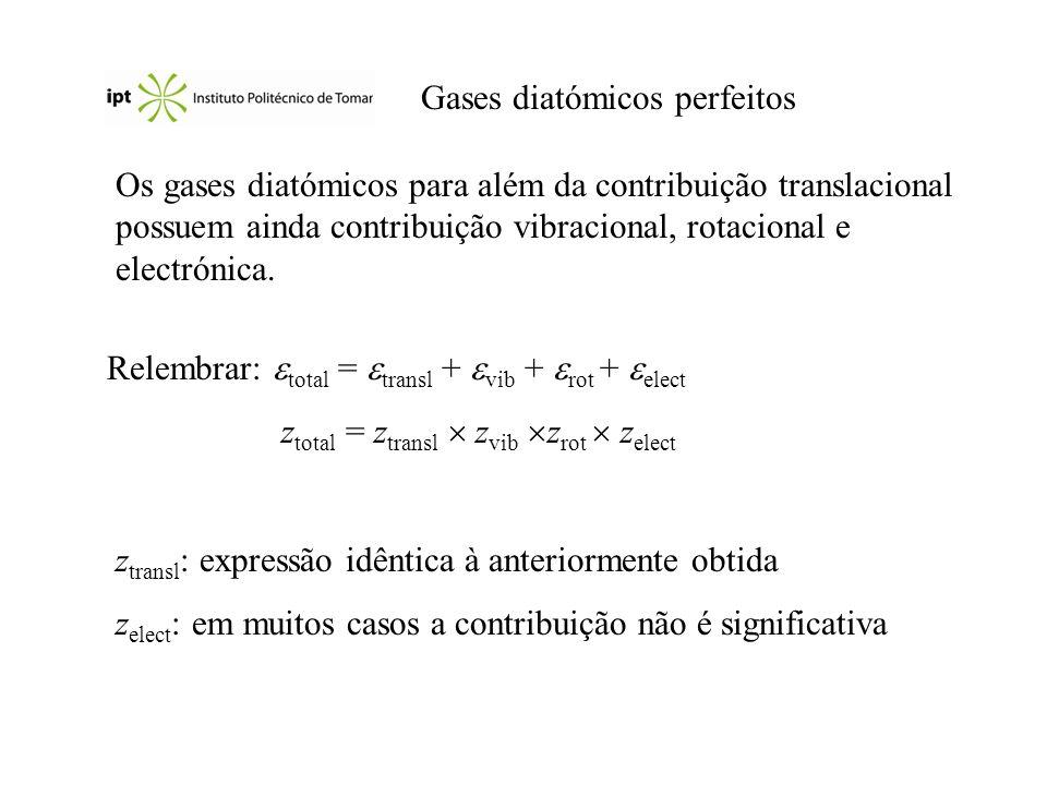 Gases diatómicos perfeitos
