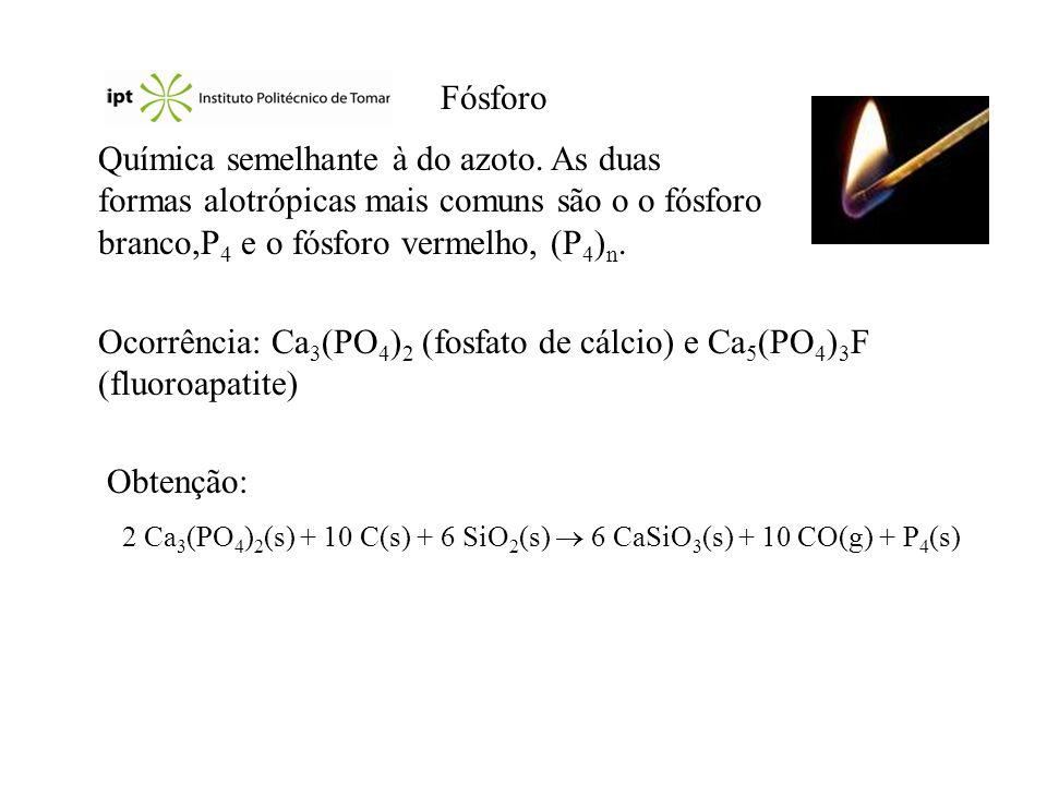 2 Ca3(PO4)2(s) + 10 C(s) + 6 SiO2(s)  6 CaSiO3(s) + 10 CO(g) + P4(s)