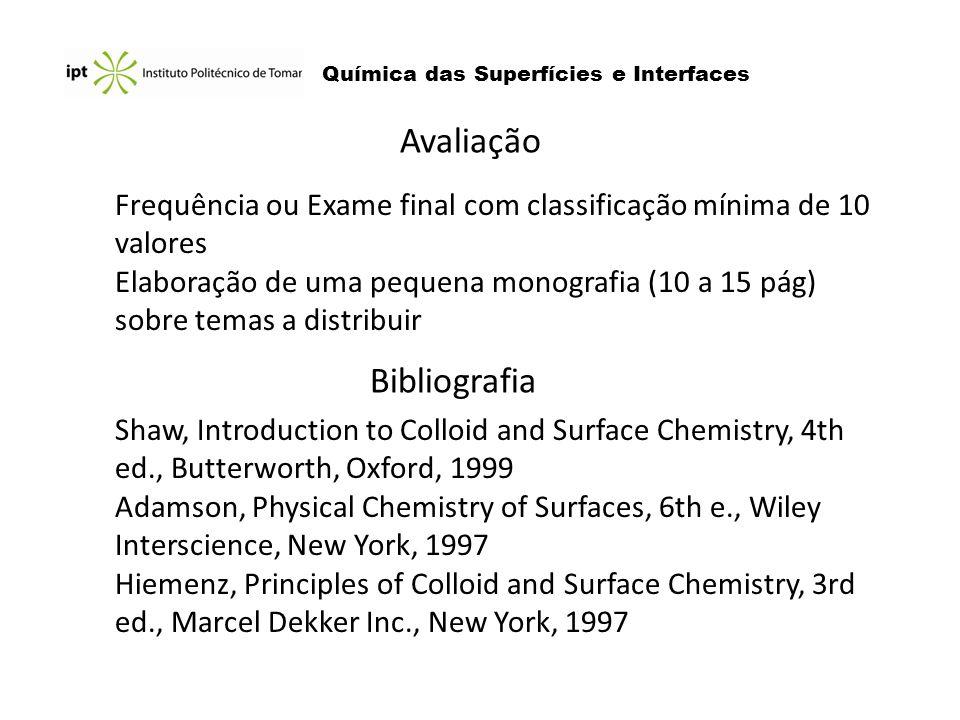 Avaliação Bibliografia