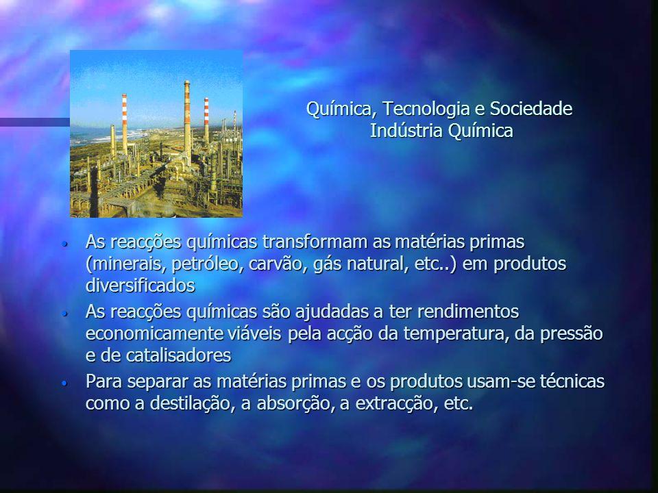 Química, Tecnologia e Sociedade Indústria Química