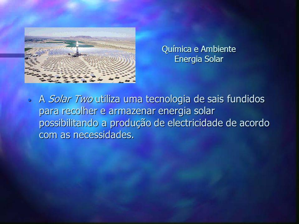 Química e Ambiente Energia Solar